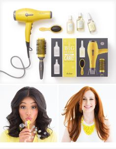 "DRYBAR'S ""BIG HAIR, DON'T CARE"" KIT - Founder Alli Webb shares tips on achieving sky-high hair with this exclusive kit - on the #Sephora Glossy>"