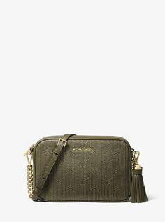 0b6e578b94f3 MICHAEL Michael Kors Ginny Medium Deco Quilted Leather Crossbody