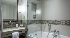 Unique and peaceful hotel rooms for your stay in Paris. Have A Shower, Surface Area, Paris Hotels, 4 Star Hotels, Corner Bathtub, Antique Furniture, Brighton, Classic, Room