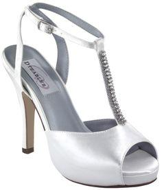 2d12ba50e26 White Dyeables Emma Bridal Shoes Dyeable Shoes