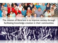 Libraries Goal is to Improve Society Thread