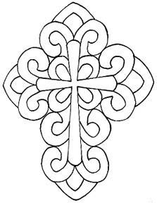 Cross Scroll Saw Patterns Crochet, Carving, Patterns. Cross Scroll Saw Patterns Celtic Patterns, Cross Patterns, Wood Patterns, Mosaic Patterns, Embroidery Patterns, Faux Stained Glass, Stained Glass Patterns, Mandala, Kirigami