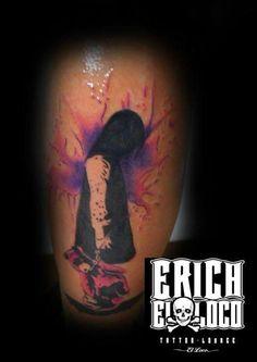 Tattoo Mädchen Girl Watercolour Watercolor Tattoo, Watercolour, Tattoo Artists, Tattoos, Pen And Wash, Watercolor Painting, Tatuajes, Watercolor, Tattoo