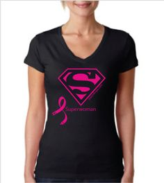 Great gift for you or any of the Superwomen in your life! Super cute fit. Also available in other styles.