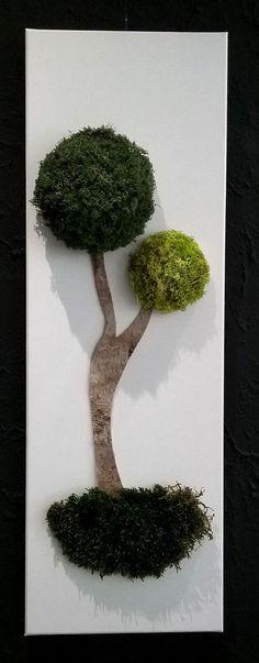 Tableau Végétal Stabilisé 90 x 30 cm (cadre mur décoration végétale) Decoration, Wall Of Frames, Home Ideas, Decor, Decorations, Decorating, Dekoration, Ornament