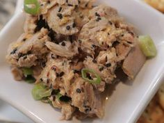 """Spicy Sesame Tuna Salad (Catch Me If You Can) - Damaris Phillips, """"Southern at Heart"""" on the Food Network."""
