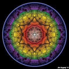 Mandala drawing 11 colour v2 by Mandala-Jim on deviantART