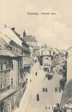 Bratislava, Old Photos, Times, Buildings, Art, Old Pictures, Art Background, Vintage Photos, Kunst