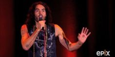 Russell Brand Points Out The Absurdity Of Being Anti-Immigration In New Special Russell Brand, Explain Why, Comedians, Politics, Concert, Concerts