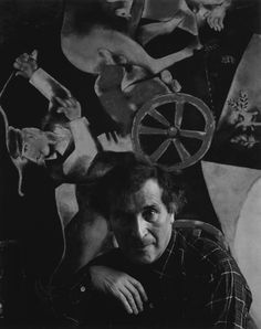 Marc Chagall , Russian/French Painter, 1942 !!! Arnold Newman's Incredible Artist Portraits (25 photos) - My Modern Metropolis