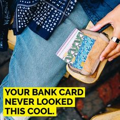 Bank Card Covers by Cucu Covers | Bank cards aren't very exciting at the best of times. Cucu Covers have made this most boring of necessities fun, colourful and exciting. There's a wide range of designs to choose from and will be sure to make your purse/wallet more fashionable and interesting. #greatinvention #bankcard #bankcardcover #cardcover #creditcard #creditcardcover #wallet #purse #wardrobestation #accessoriesstation #kickstarter