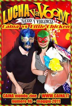 LUCHA VaVOOM – Parte 1: Caina vs Little Chicken (Los Angeles – Cinco de Mayo 2011) | Caina