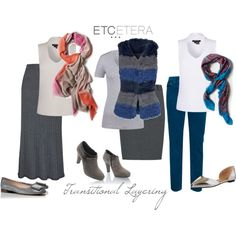 """""""Etcetera: Summer to Fall transitional layering."""" by etcetera-nyc on Polyvore"""