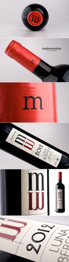 LUNA BEBERIDE MENCIA 2012 - TANINOTANINO VINOS INTELIGENTES Photo by #winebrandingdesign