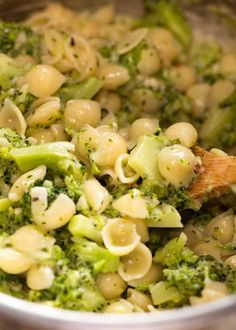 A little bit lemony, a little bit cheesy and a whole lot of yum, Broccoli Pasta is an emergency quick dinner idea or veg carb side dish. Vegetarian Cooking, Vegetarian Recipes, Cooking Recipes, Healthy Recipes, Healthy Meals, Meatless Pasta Recipes, Quick Pasta Recipes, Turkey Recipes, Kitchen
