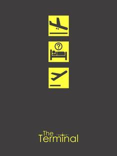 The Terminal (2004) ~ Minimal Movie Poster by Subhajyoti Ghosh