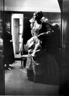 Maria Callas a la Scala de Milan, 1958 © Willy Rizzo
