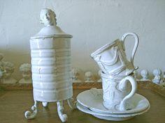 Astier de Villatte by mistletoe Mistletoe, via Flickr ~ French earthenware