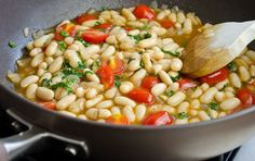 Summer White Bean Ragout