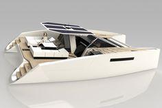A50 Open Catamaran by Janne Leppanen Design