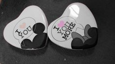 Boites Mickey et Minnie
