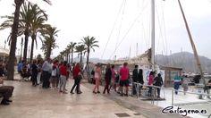 Un paseo en el Catamarán Olé para festejar el Día Marítimo Europeo #cartagena