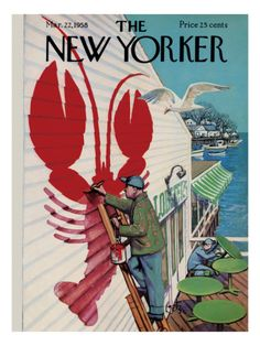 The New Yorker Cover - March 22, 1958 Poster Print by Arthur Getz at the Condé Nast Collection