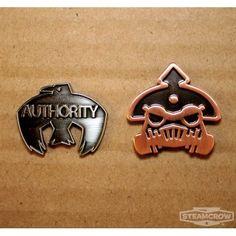 Bad Metal Badges 2-pack