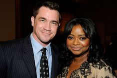 Octavia spencer husband   I don't usually pin celebrities. But damn he is fine