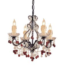 Buy the Crystorama Lighting Group Champagne Direct. Shop for the Crystorama Lighting Group Champagne Paris Flea Market 4 Light Wide Wrought Iron Candle Style Mini Chandelier with Clear Murano Crystal and save. Antique Brass Chandelier, Mini Chandelier, Chandelier Shades, Chandelier Lighting, Chandeliers, Victorian Chandelier, Victorian Lighting, Crystal Light Fixture, Light Fixtures