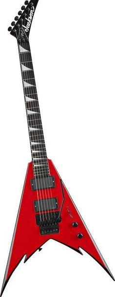 Jackson Phil Demmel Demmelition King V Electric Guitar Philly Red w/ Black Bevels