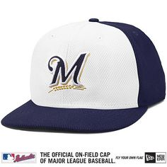 outlet store 53574 68d08 Milwaukee Brewers Authentic Collection Diamond Era 59FIFTY Game Cap  Diamond, Detroit Tigers, Collection,