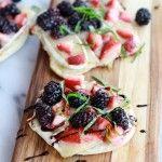 10 End Of Summer Berry Recipes | theglitterguide.com