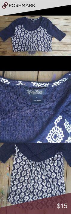 Lucky Brand Cute crochet back top Lucky Brand Tops