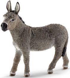 Schleich Donkey figurine www.minizoo.com.au
