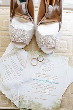 Secret Garden Themed Invitations | Wedding Paper Divas | Full Spectrum Photography | TheKnot.com