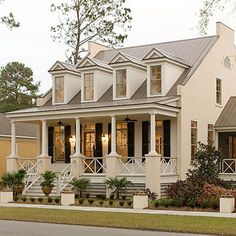 eastover cottage plan 1666 17 house plans with porches southern living - Acadiana Home Design