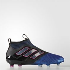 buy popular 81194 25a5a Adidas ACE 17+ Purecontrol Firm Ground Cleats (Core Black  Running White  Ftw