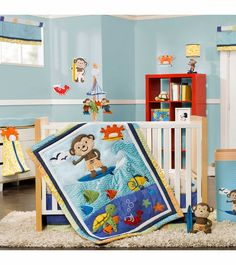 1000 Images About Surf Monkey Nursery On Pinterest