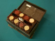 Antique Poker Chips
