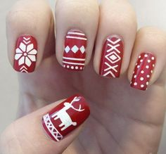 Christmas nail ideas diy
