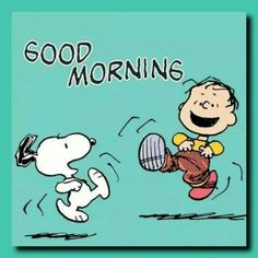 Linus and Snoopy Friday Pictures, Snoopy Pictures, Charlie Brown Quotes, Charlie Brown And Snoopy, Good Morning Snoopy, Good Morning Quotes, Morning Images, Peanuts Cartoon, Peanuts Snoopy