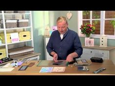 You would be mad to miss this enlightening episode in which your favourite crafter, John Lockwood introduces you to our stunning Cosmic Shimmer Watercolour P...