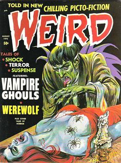 Retrospace: Cover Gallery #10: 1970s Horror Comics Part Two: Eerie Publications