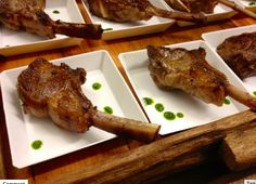 Moroccan Style Petit Lamb Lollipops are always a guest favorite!