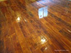 Faux Concrete Flooring - Piqua Ohio