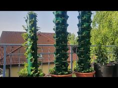 DIY: Strawberry tower - part 2/2 - YouTube Strawberry Tower, Tower Garden, Pvc Pipe, Garden Tools, Projects To Try, Outdoor Structures, Youtube, Aqua, Vegetable Garden