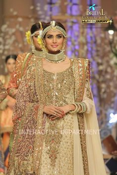 Fahad Hussayn New Bridal Dresses Collection 2015, Telenor Bridal Couture Week Hum Sitaray (6) | X Pakistani Fashion Clothes Dresses Collection