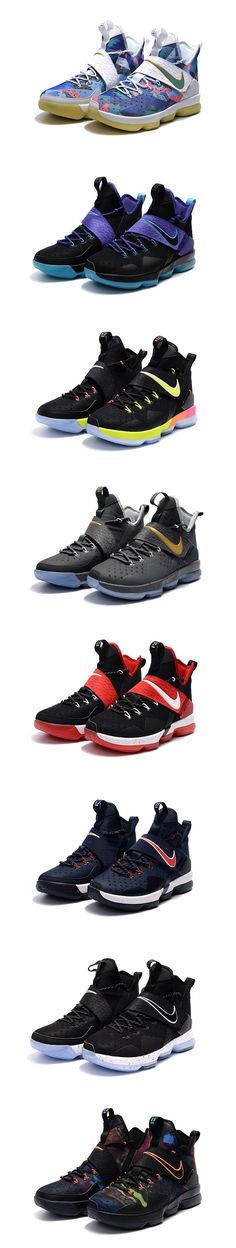 528705199feb Cheap LeBron James in Nike LeBron 14 Women and Kids Black Colorful