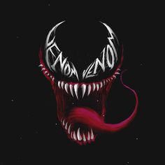 Venom Digital art made by DeadEyesArt - Marvel Marvel Venom, Marvel Villains, Marvel Art, Venom Tattoo, Marvel Paintings, Venom Art, Skull Artwork, Scary Art, Marvel Comic Universe